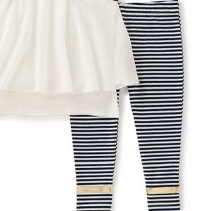 Juicy Couture Matching Sets - Juicy Couture White Popover Top & Leggings